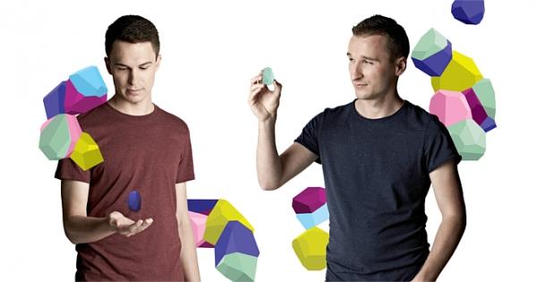 Na zdjęciu (od lewej): Łukasz Kostka i Jakub Krzych