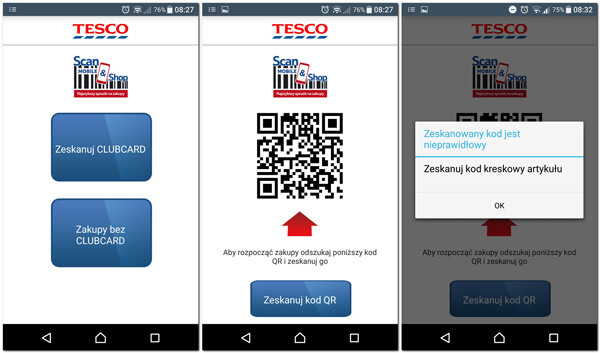 Scan&Shop w Tesco