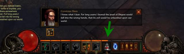 Diablo 3 - pasek doświadczenia