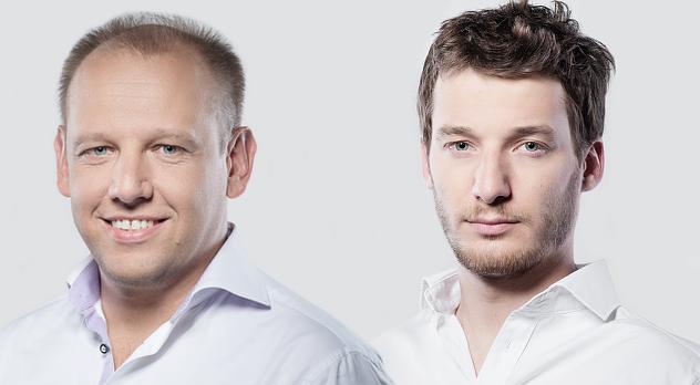 fot. materiały prasowe | Na zdjęciu: (od lewej) Adam Jesionkiewicz i Michał Polak
