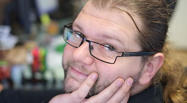 fot. Marcin Complak - specjalista od PHP, Flash i node.js
