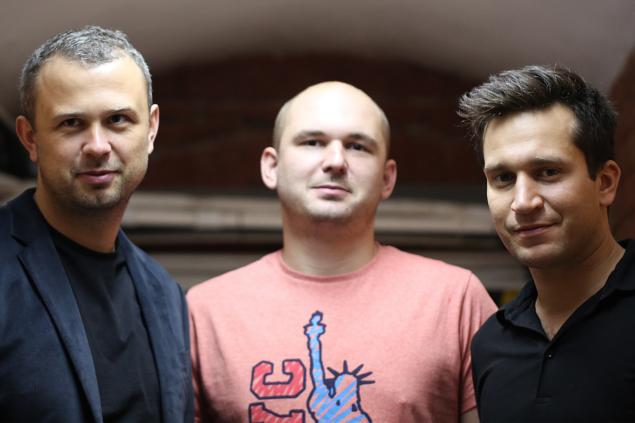 fot. archiwum prywatne | Na zdjęciu (od lewej): Michał Skrzyński, Marcin Popielarz i Marcin Kurek