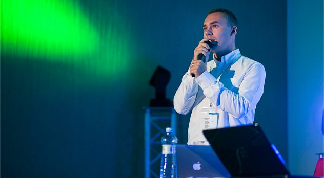 Zdjęcie z konferencji Internet Beta 2013 dzięki uprzejmości Blue Cherry Studio